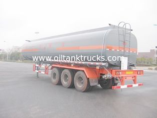 China Aluminum alloy Liquid Tank Truck Semi-Trailer supplier