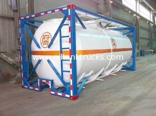 China Liquid Tank Container 48000L ISO International Shipping 40ft supplier