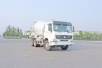 China 6x4 Concrete Mixer Trucks 8CBM 9CBM 10CBM Capacity (336HP) Sino Truck-HOWO supplier
