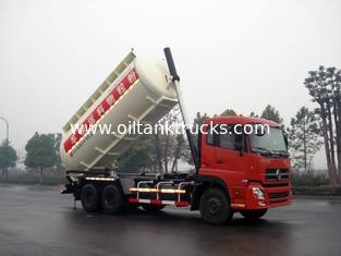 China DFL1250A8 T-Lifting Dry Bulk Truck Transport Bulk Cement 356HP Dongfeng 6x4 22cbm / Coal supplier