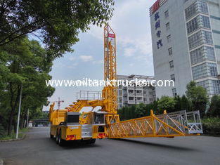 China 15m Aluminum 800kg Load Bridge Inspection Truck / Truck Mounted Access Platform supplier