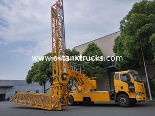 China Aluminum 299.84 HP Lattice Type Mobile Bridge Inspection Unit D13A400-EC06 supplier