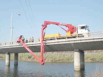 China Dongfeng 6x4 Bucket Type Bridge Inspection Equipment , bridge inspection platform 16m 270HP distributor