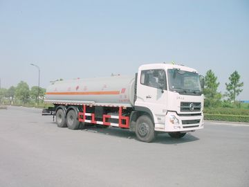 China Dongfeng 6x4 245HP 4,887 US Gallon Oil Tanker Truck 18500L , ISO9001 distributor