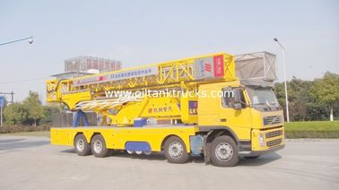 China Volvo 8X4 22m Mobile Bridge Inspection Unit Rental With Electrohydraulic Systems distributor