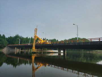 China HOWO Mobile Bridge Inspection Platform Easy Access To Any Position Of Your Bridge factory